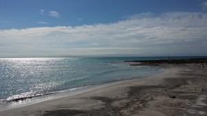 Panorama spiagge bianche